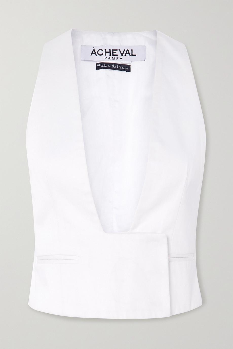 Àcheval Pampa Gardel cotton-blend vest