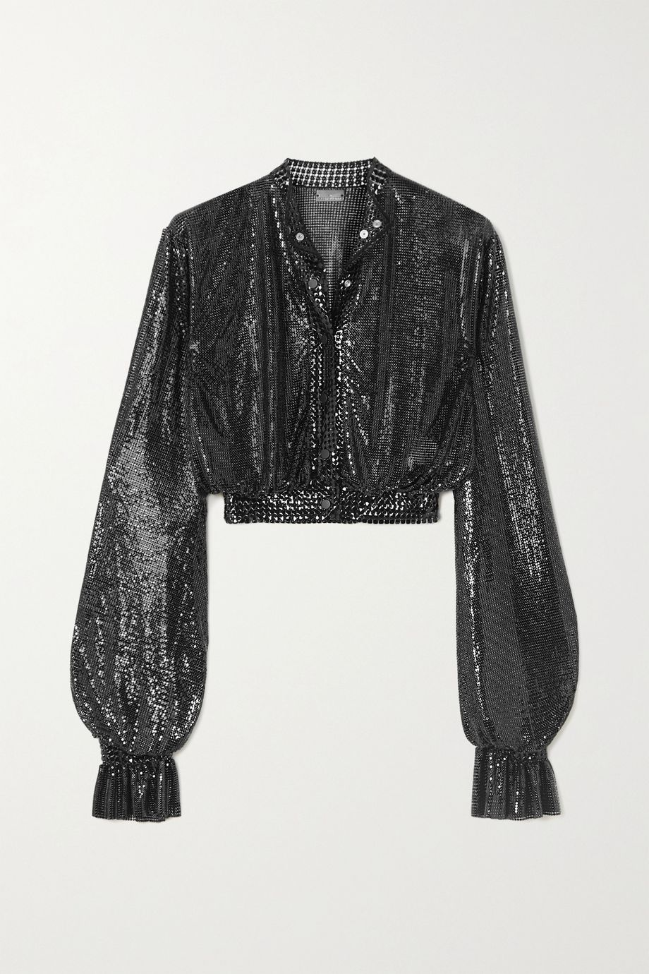 Paco Rabanne Cropped chainmail top