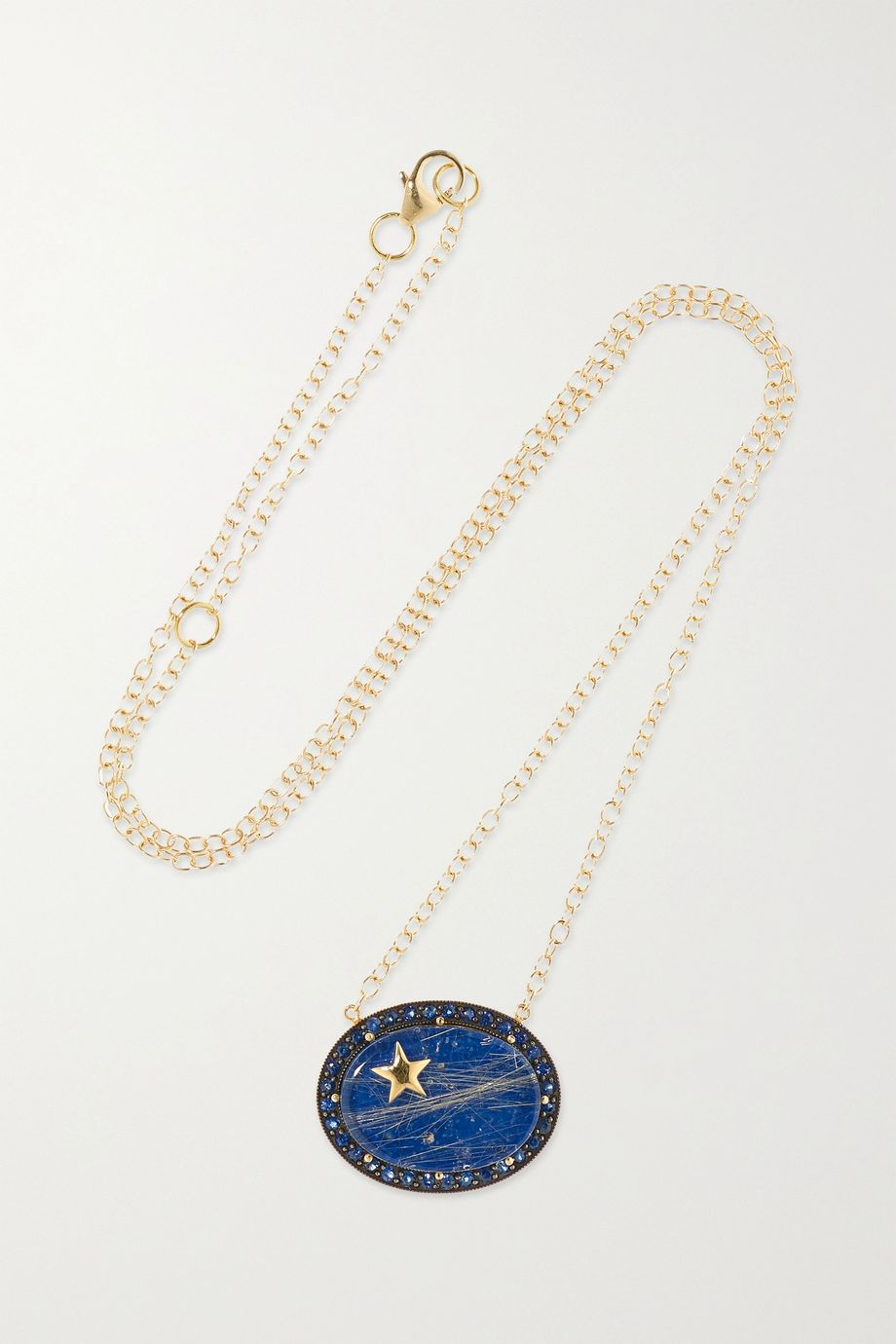 Andrea Fohrman Zenith 14-karat gold multi-stone necklace
