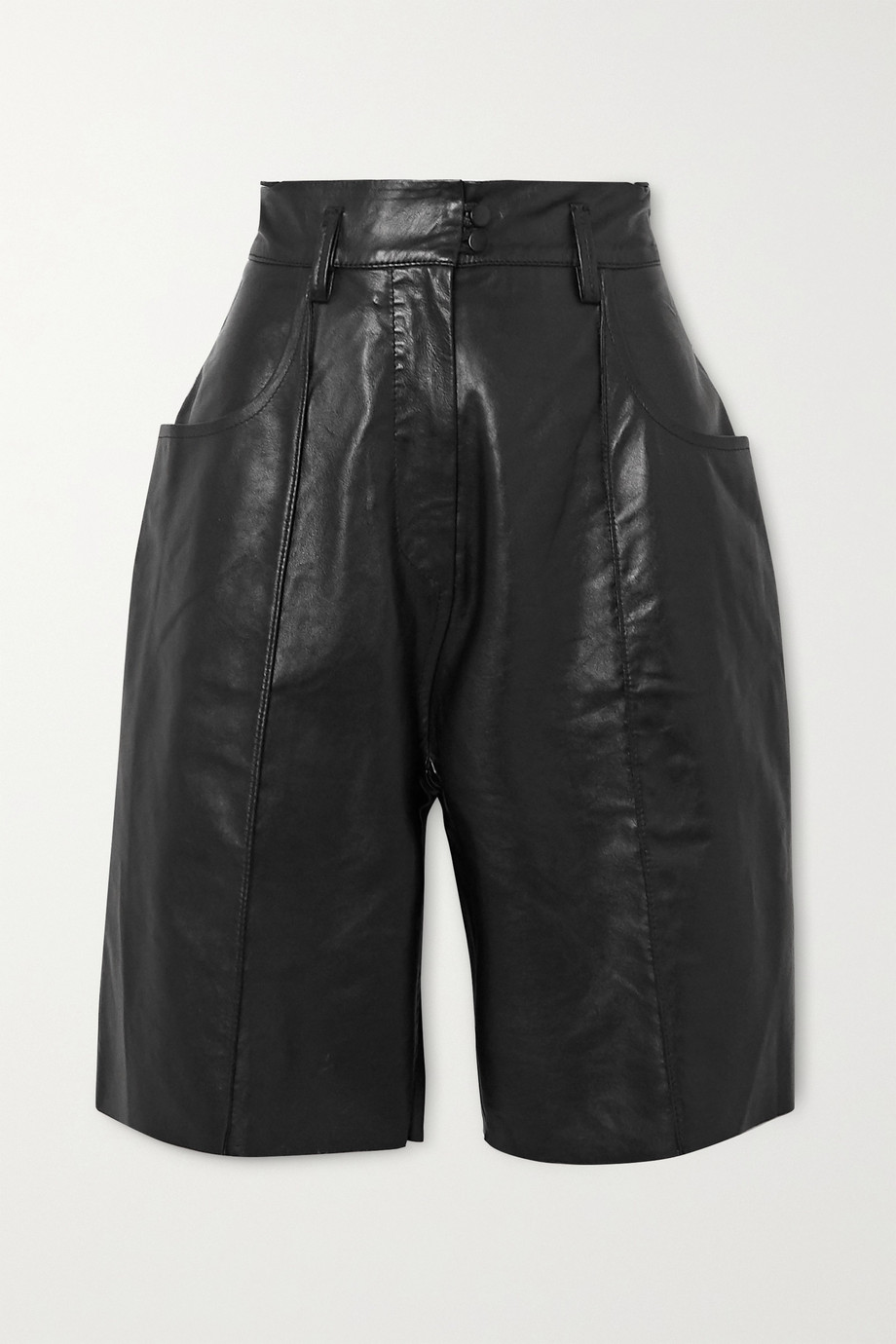 Petar Petrov Hugo leather shorts