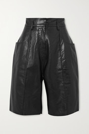 Hugo leather shorts