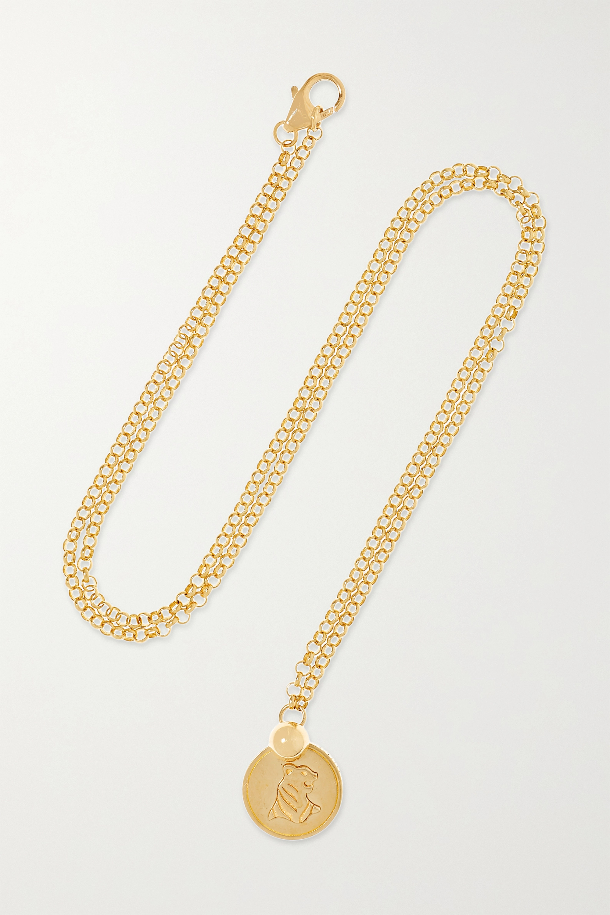 Foundrae 18-karat gold necklace