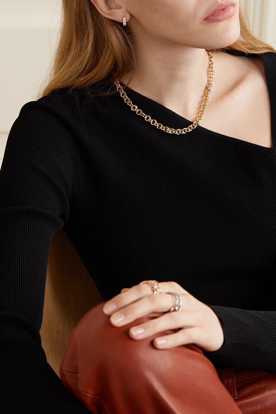 Spinelli Kilcollin Serpens 18-karat gold necklace