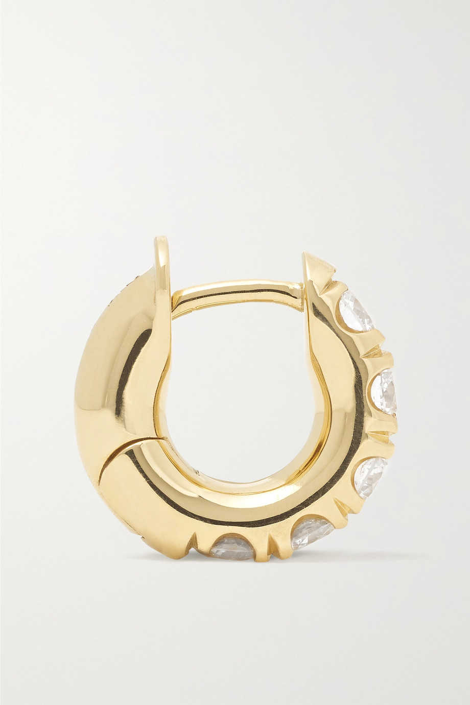 Spinelli Kilcollin 18K 黄金钻石单只耳环