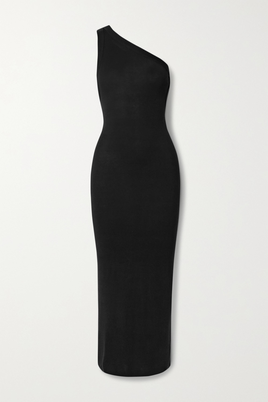 The Line By K Avalon asymmetrisches Midikleid aus Stretch-Jersey