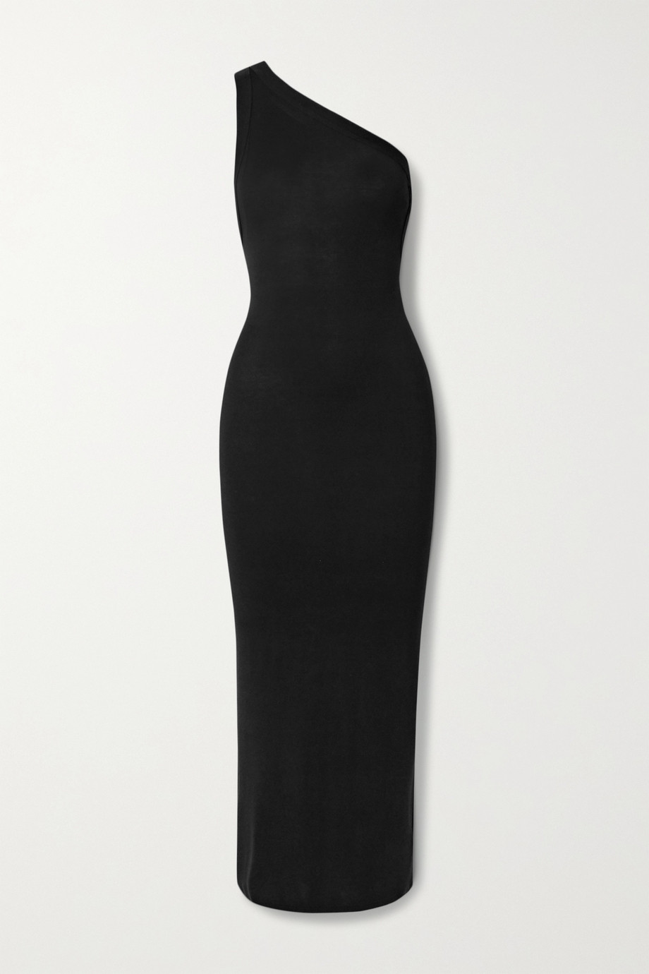 The Line By K Avalon one-shoulder stretch-jersey midi dress
