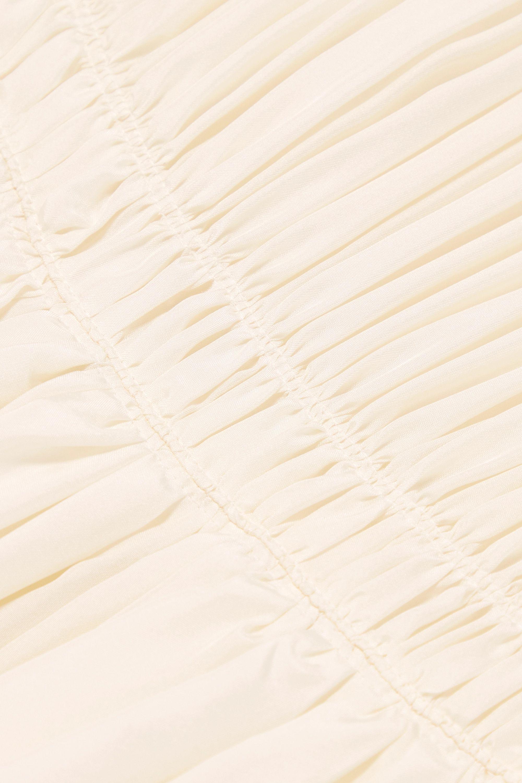 Chloé Robe aus Seide mit Raffungen