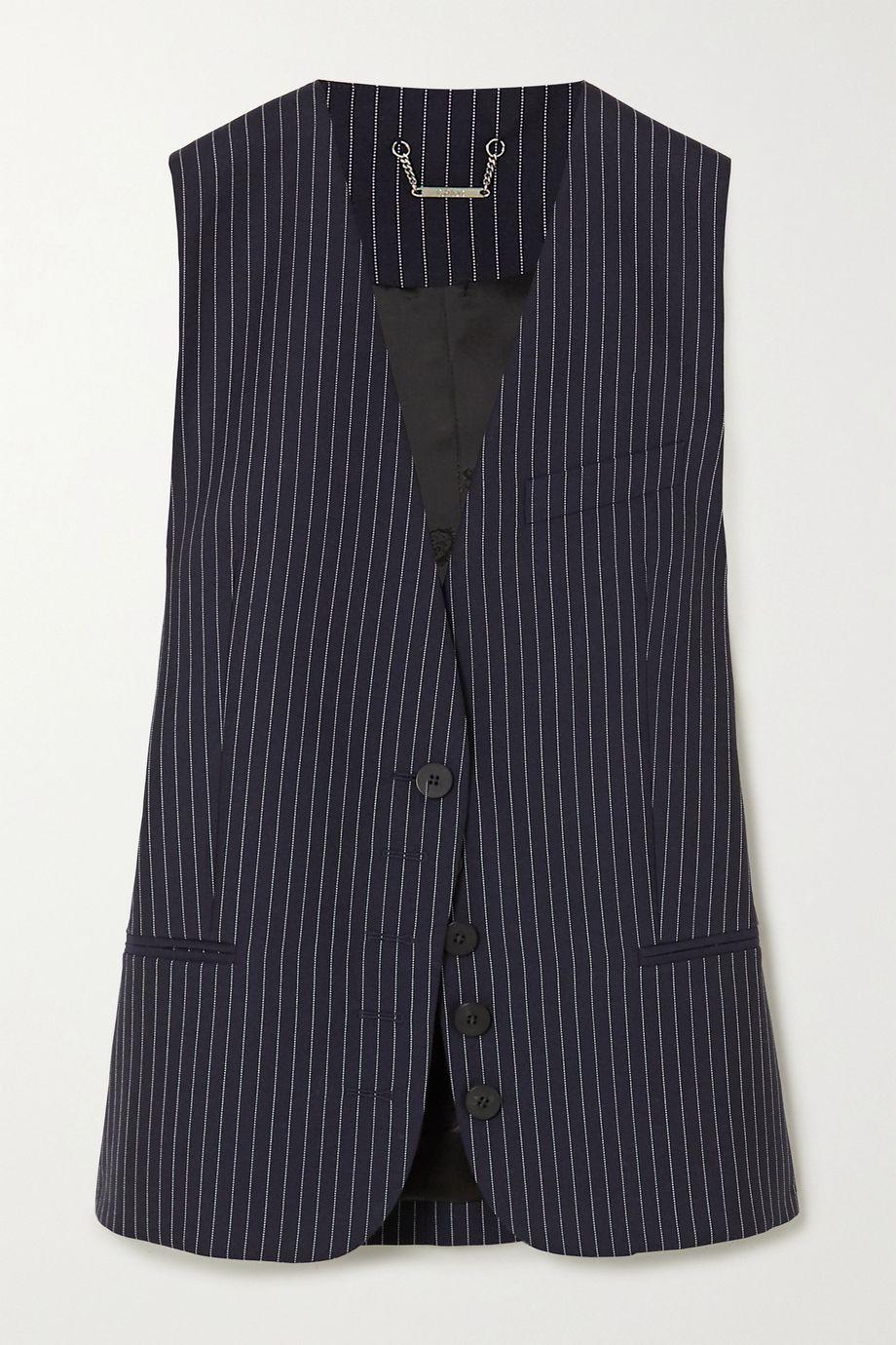 Chloé Pinstriped wool vest