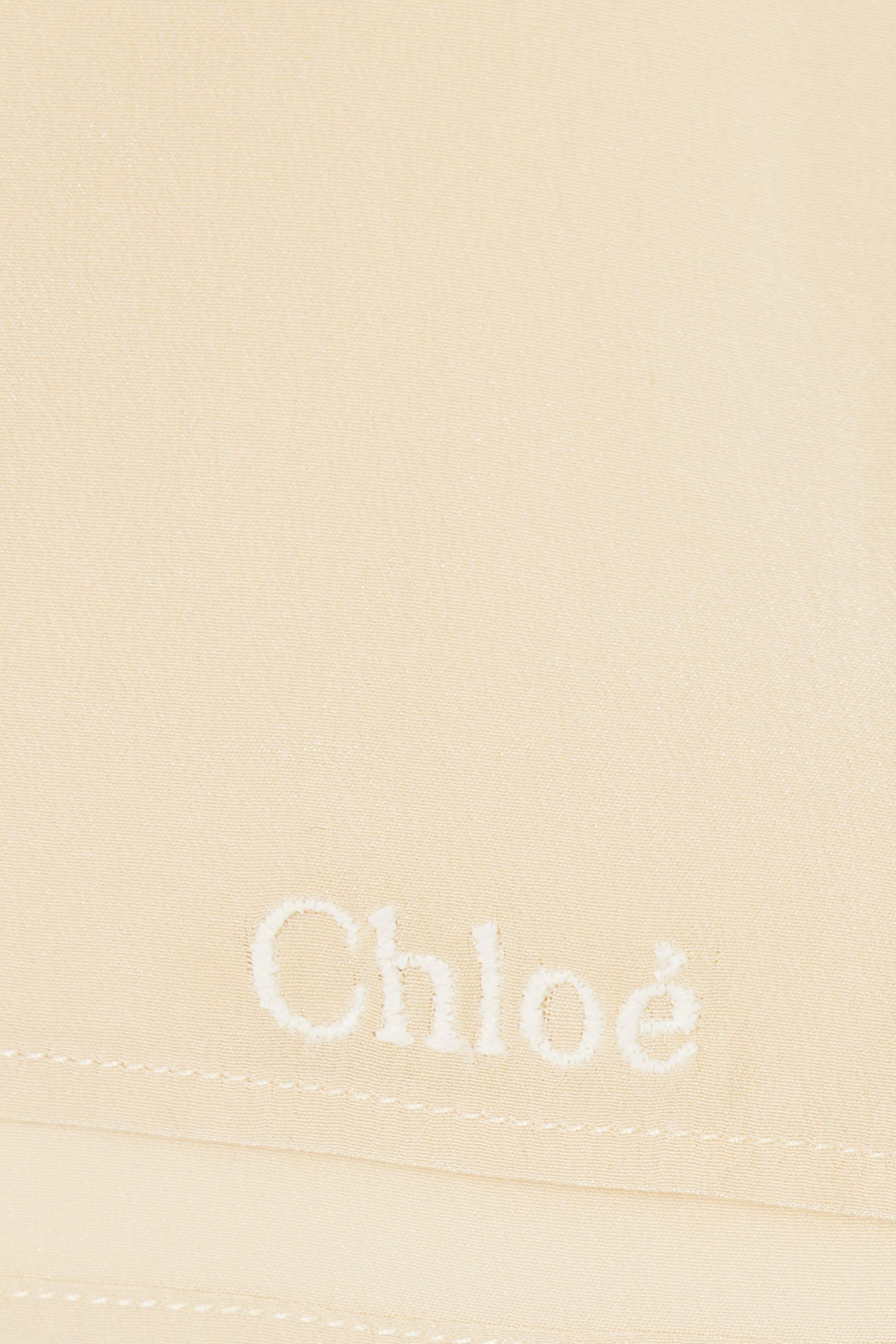 Chloé Short en crêpe de soie
