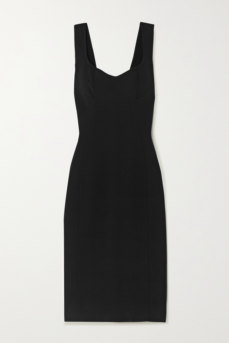 Alaïa Stretch-knit midi dress
