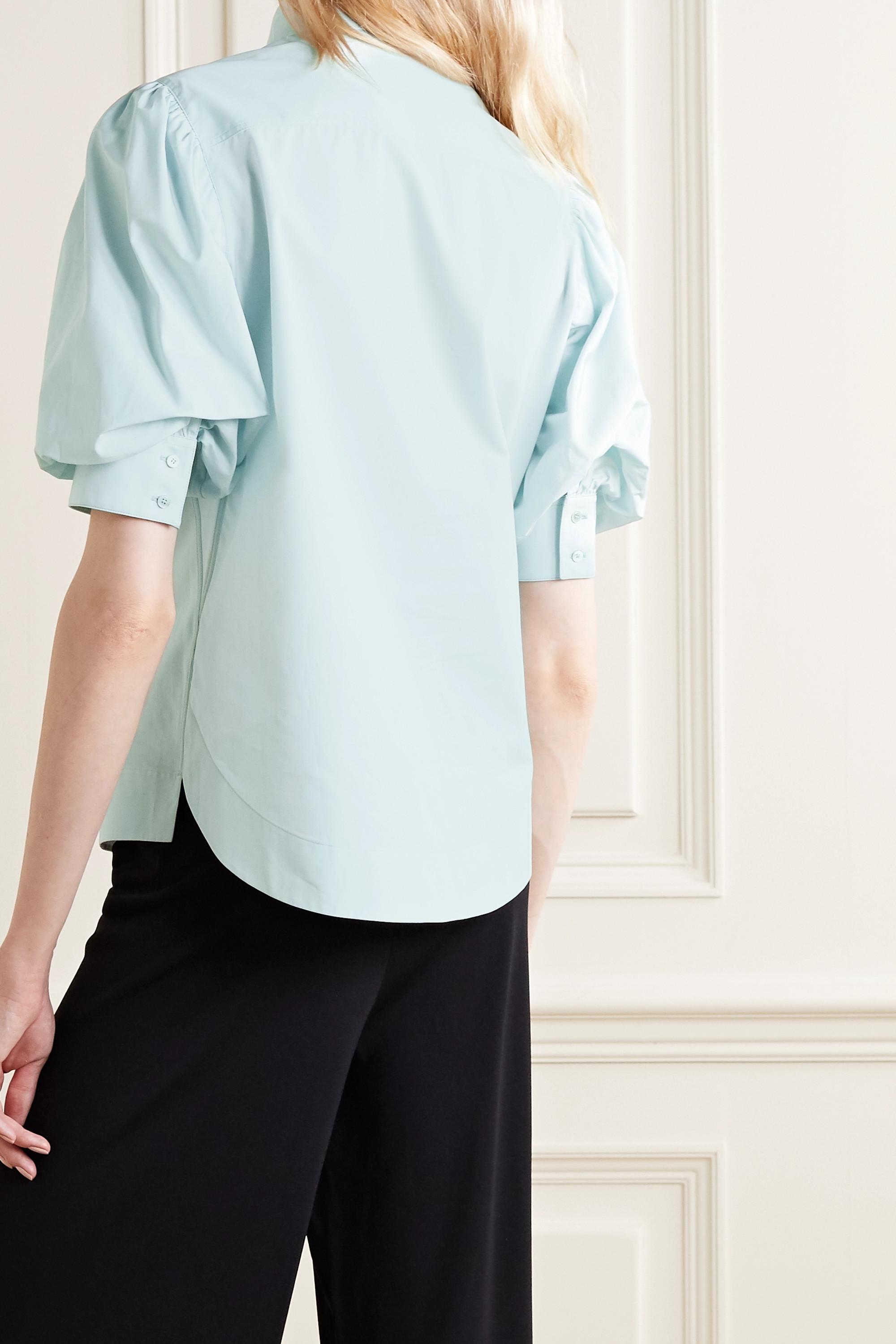 Alaïa Cotton-poplin blouse