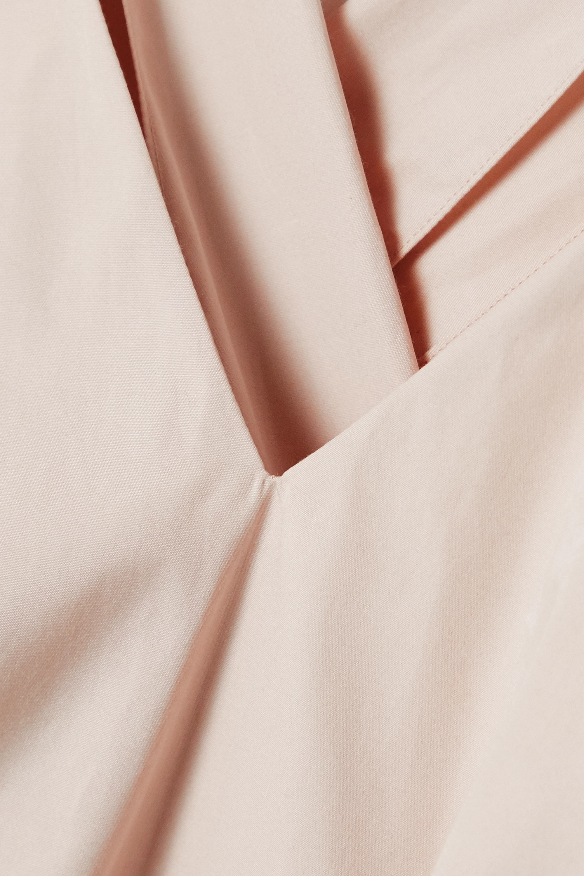 Alaïa Cotton-poplin wrap top