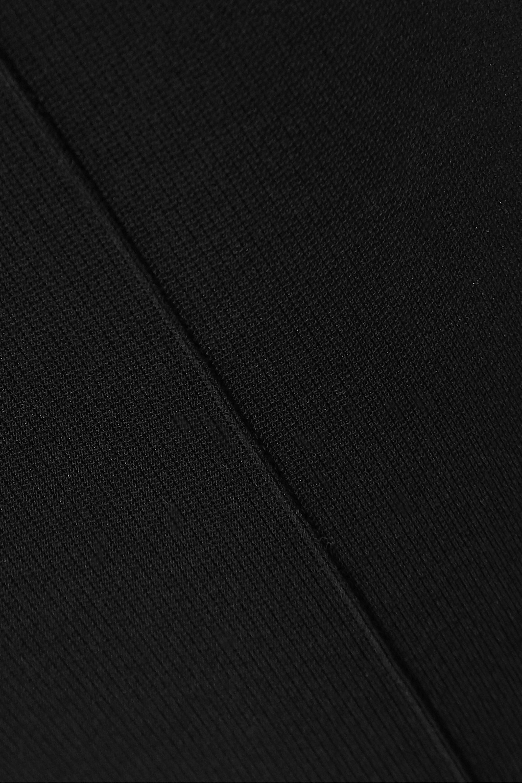 SAINT LAURENT Stretch-knit stirrup leggings