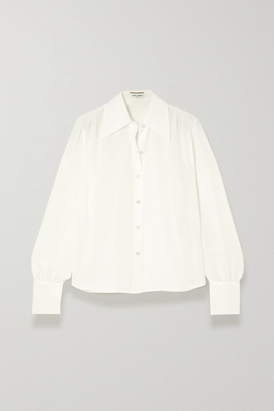 SAINT LAURENT Silk crepe de chine blouse