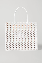 Alaïa Garance medium studded laser-cut leather tote