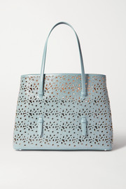 Alaïa Mina medium studded laser-cut leather tote