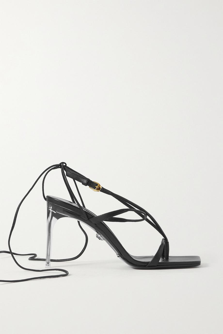 Versace Sandalen aus Leder