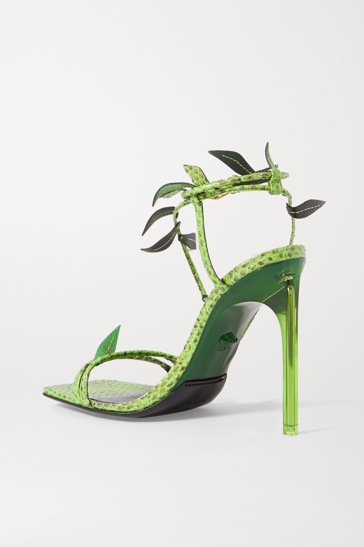 Versace Watersnake sandals