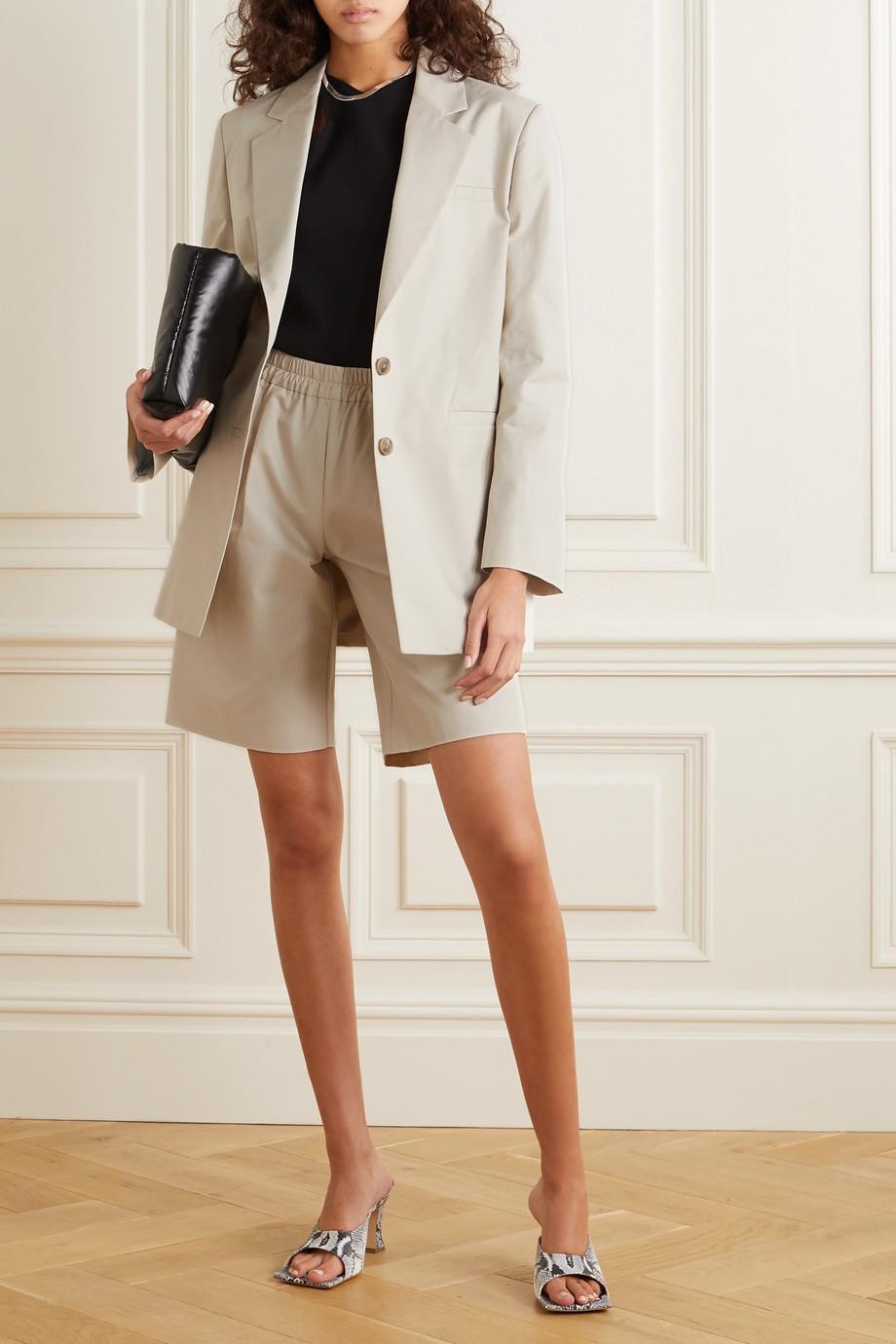 GAUGE81 Luxor oversized cotton-twill blazer