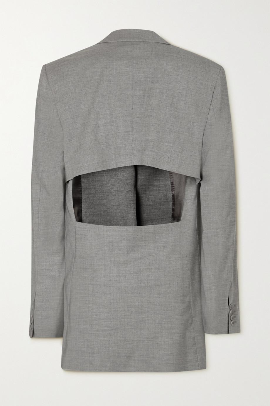 GAUGE81 Saba cutout wool-blend blazer