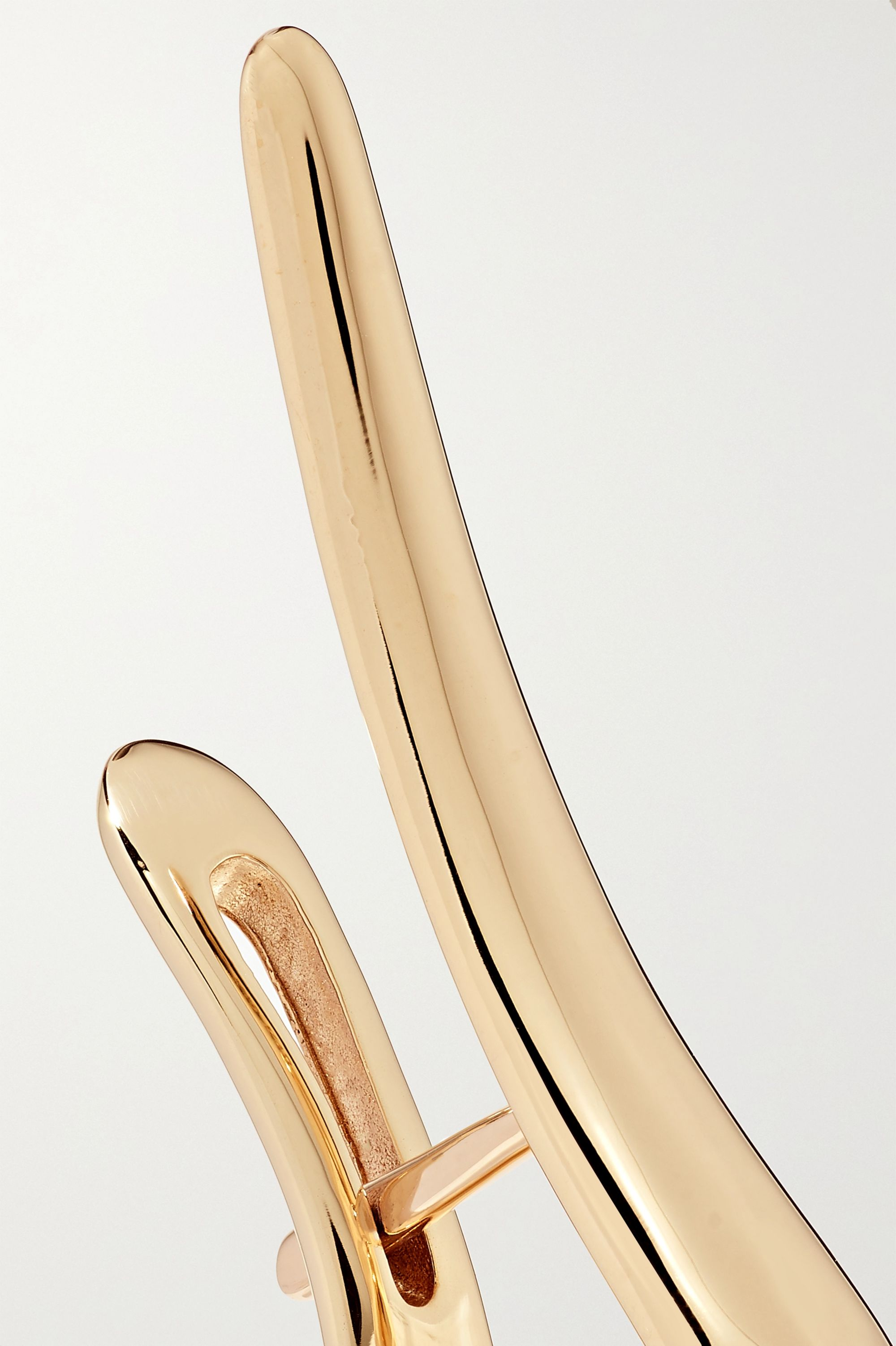 Hirotaka Cygnus Ohrring aus 10 Karat Gold