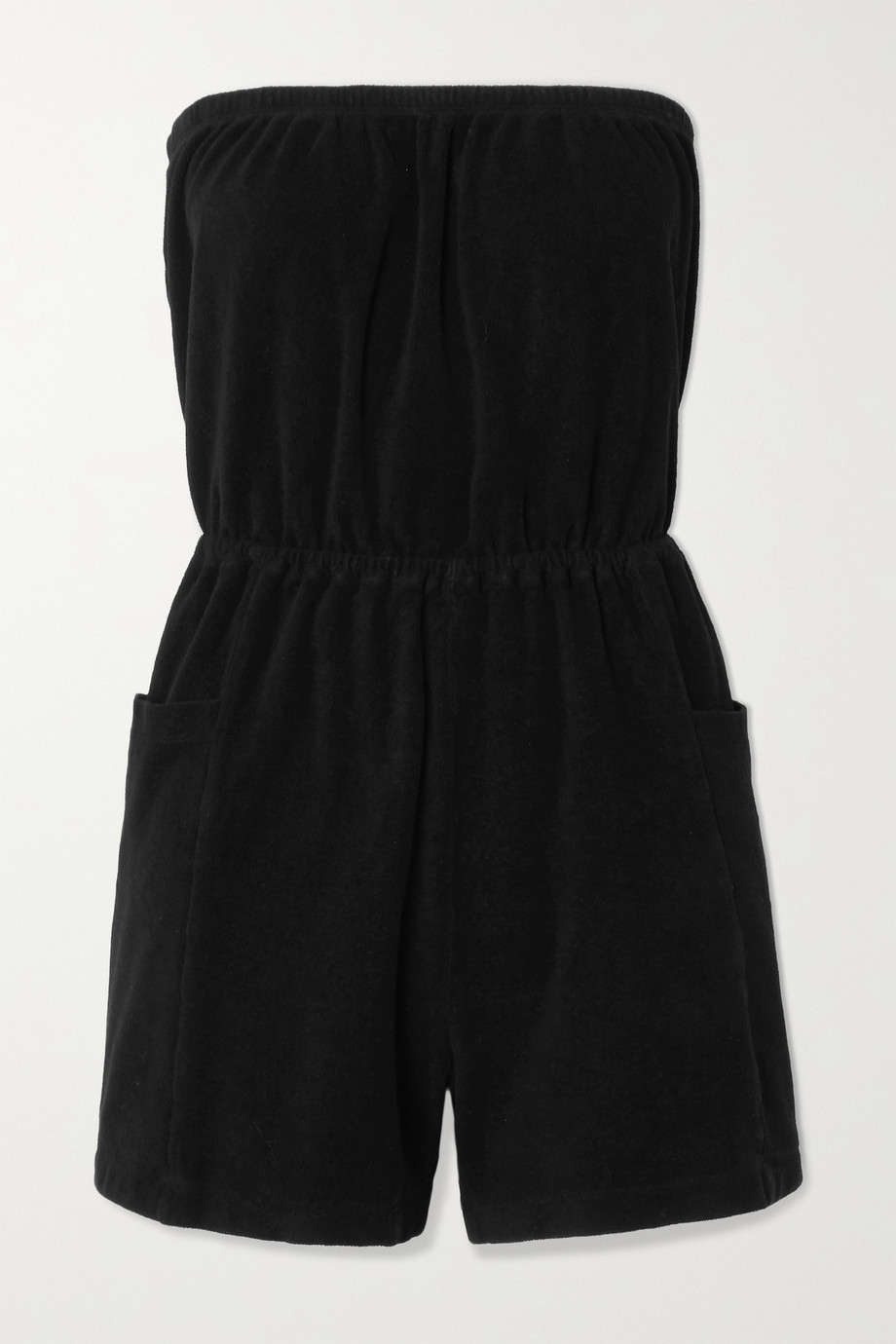 Suzie Kondi Cotton-terry playsuit
