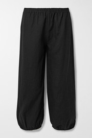Suzie Kondi Safari linen tapered pants