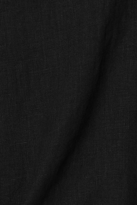 Suzie Kondi Safari cropped linen top