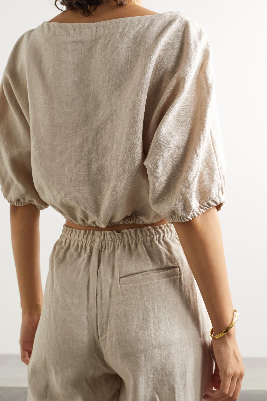 Suzie Kondi Safari 亚麻短款上衣