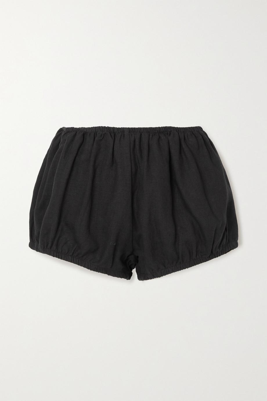 Suzie Kondi 亚麻短裤