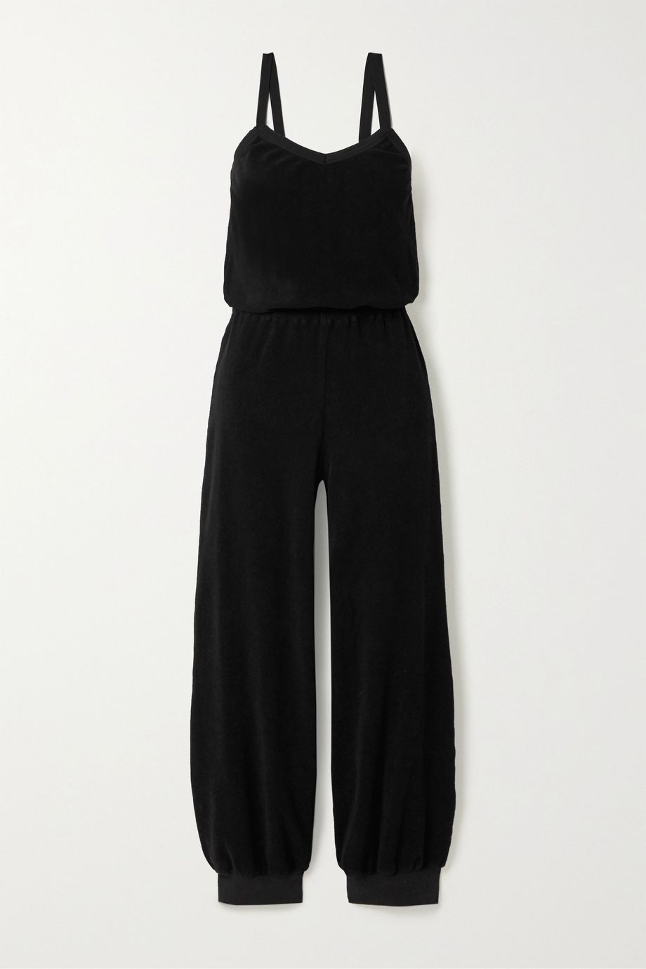 Suzie Kondi Cotton-terry jumpsuit