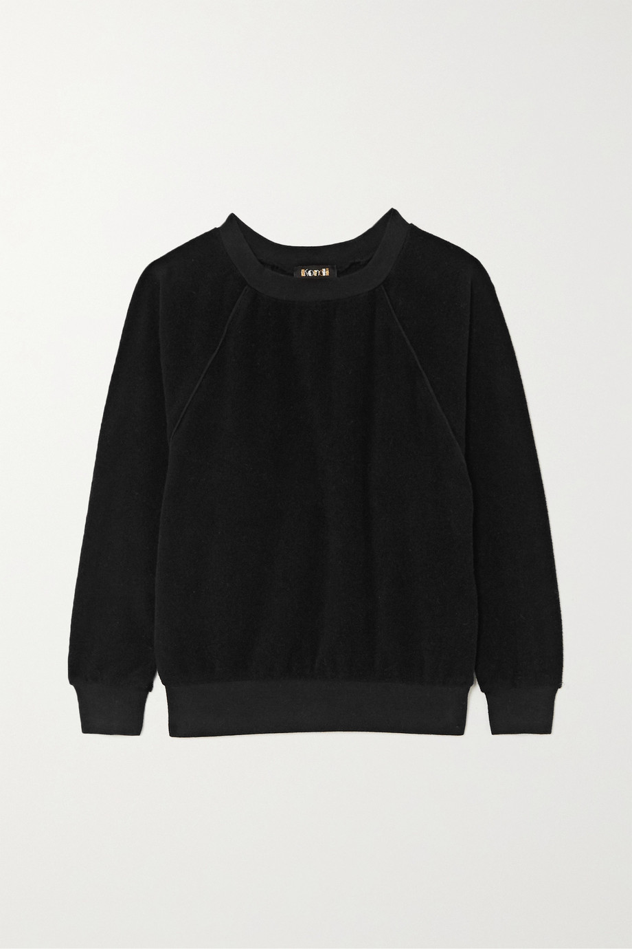 Suzie Kondi Cotton-terry sweatshirt