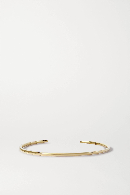 STONE AND STRAND Queue 10-karat gold diamond cuff