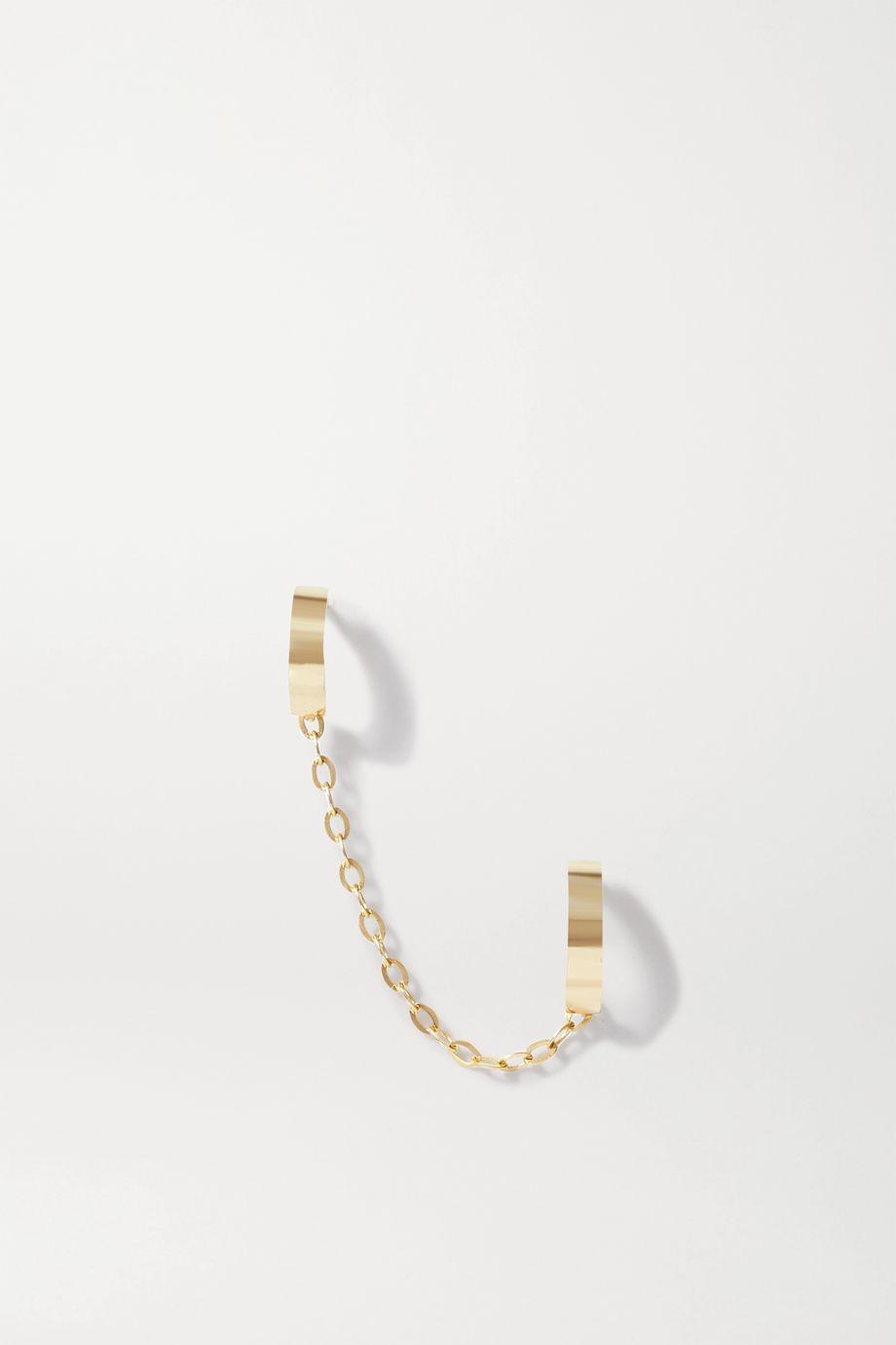 STONE AND STRAND Teeny Tiny 14-karat gold ear cuff