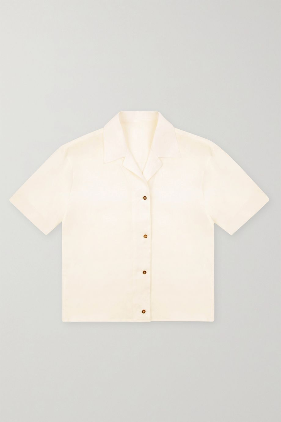 ASCENO Prague organic linen shirt