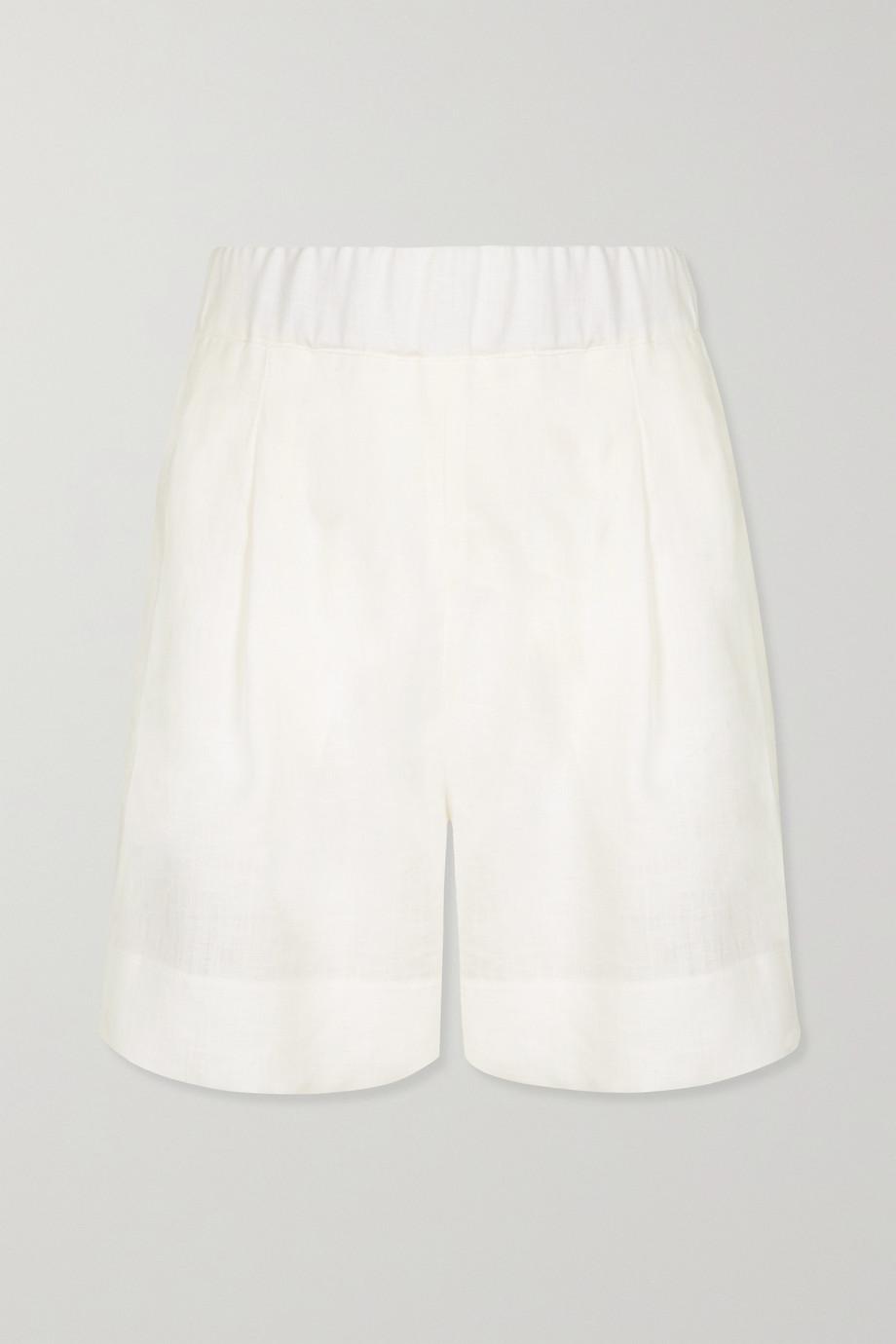 ASCENO Zurich 有机亚麻短裤
