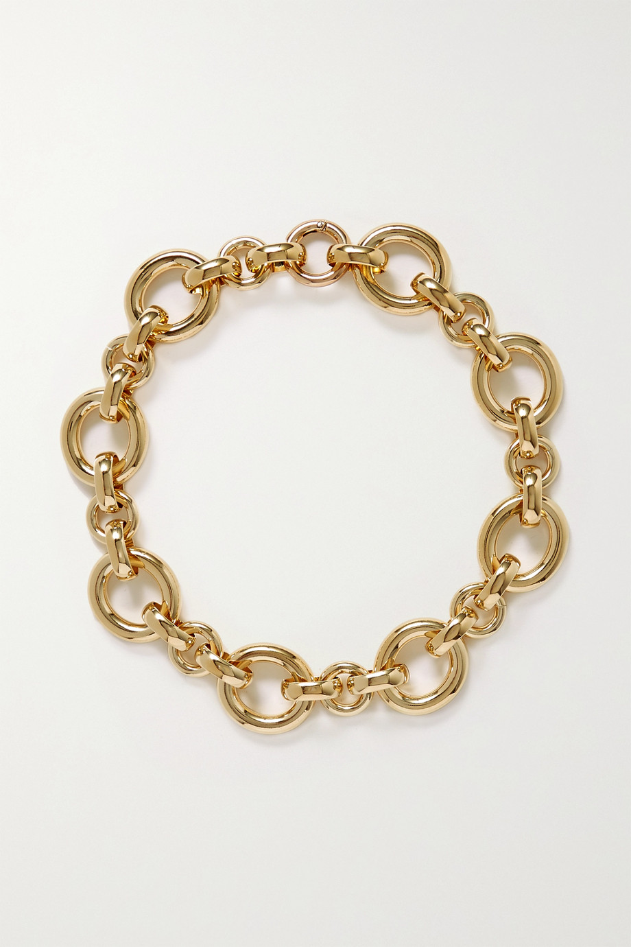 Laura Lombardi Calle gold-plated necklace