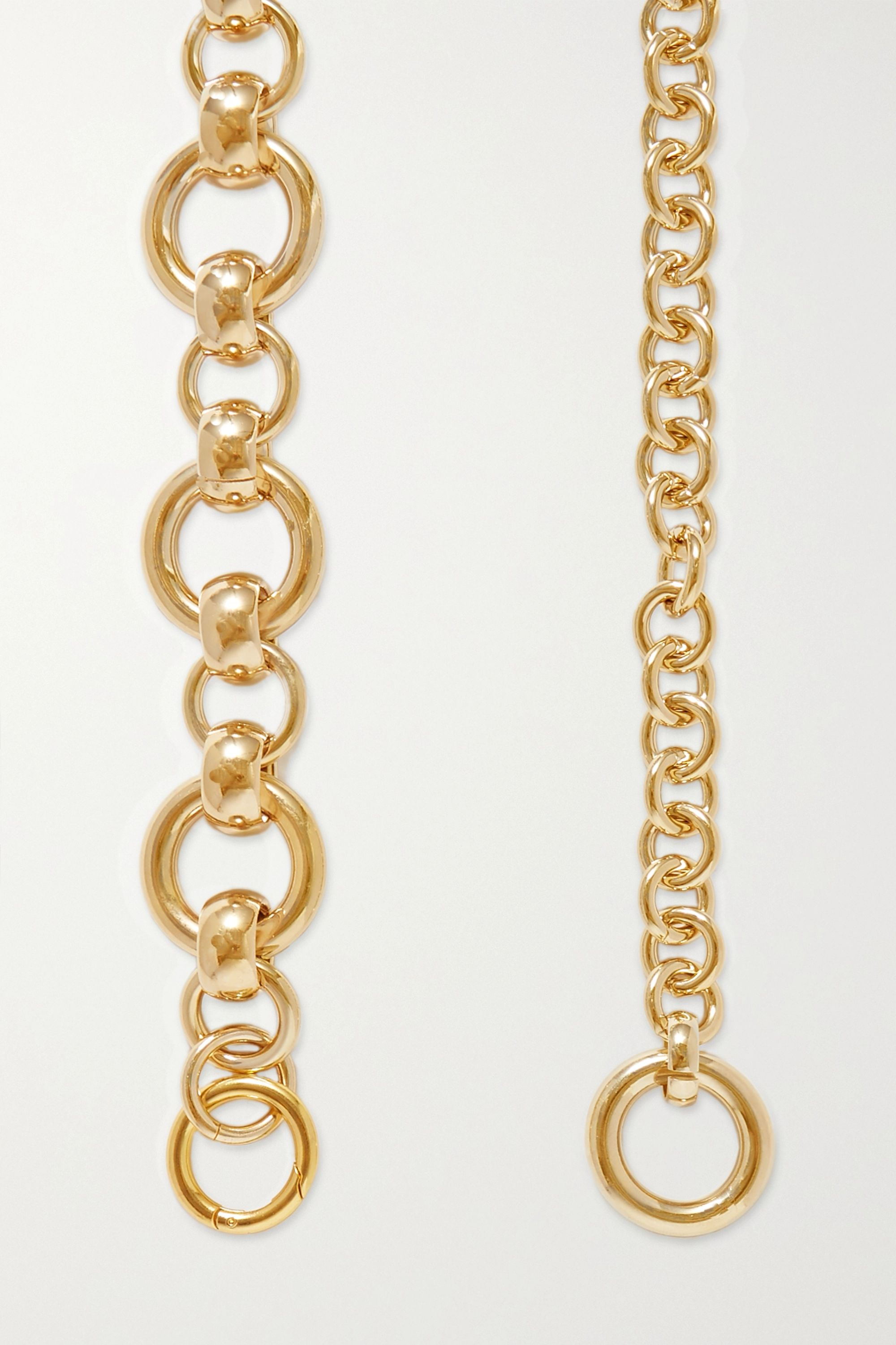 Laura Lombardi Amara gold-plated belt