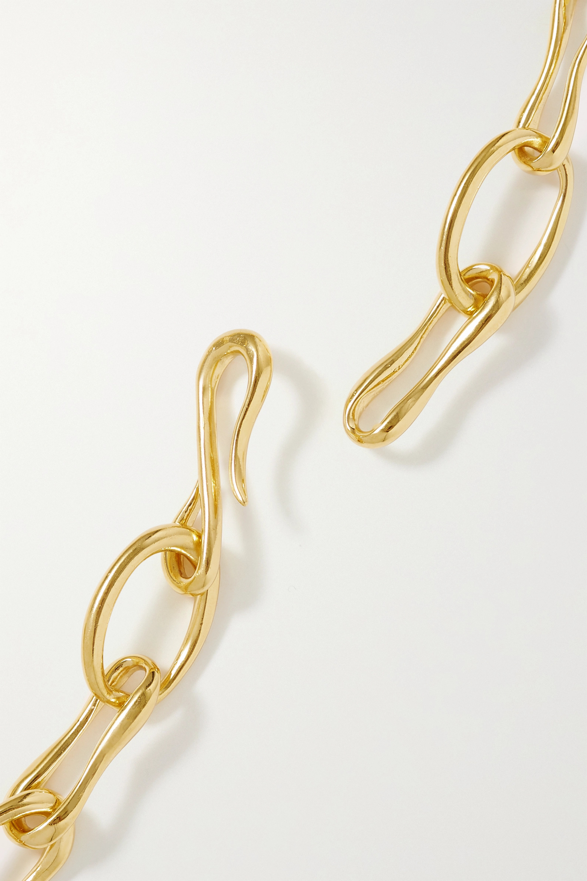 Sophie Buhai + NET SUSTAIN Roman gold vermeil necklace