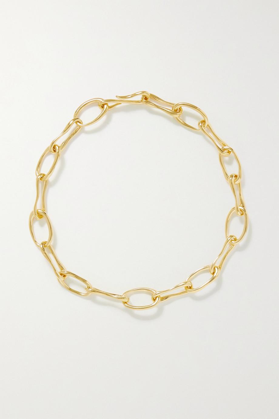 Sophie Buhai + NET SUSTAIN Roman gold vermeil necklace