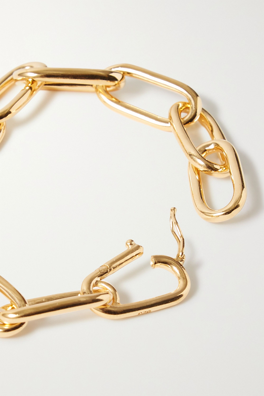 Sophie Buhai + NET SUSTAIN gold vermeil bracelet