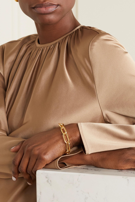 Sophie Buhai + NET SUSTAIN Armband aus Gold-Vermeil
