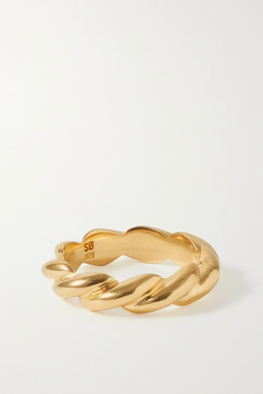 Sophie Buhai + NET SUSTAIN gold vermeil ring
