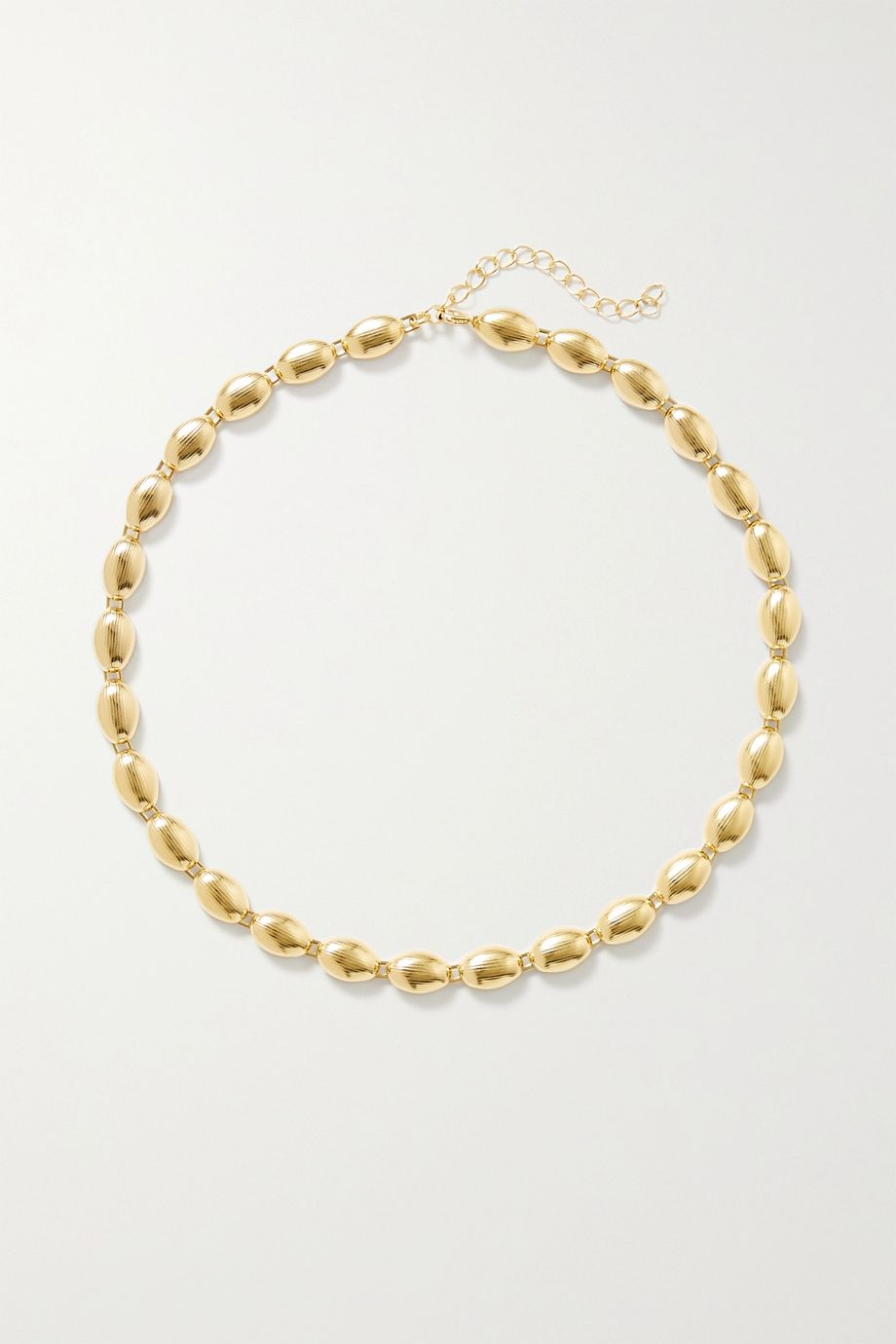 1064 Studio Deep in Grassland gold-plated necklace