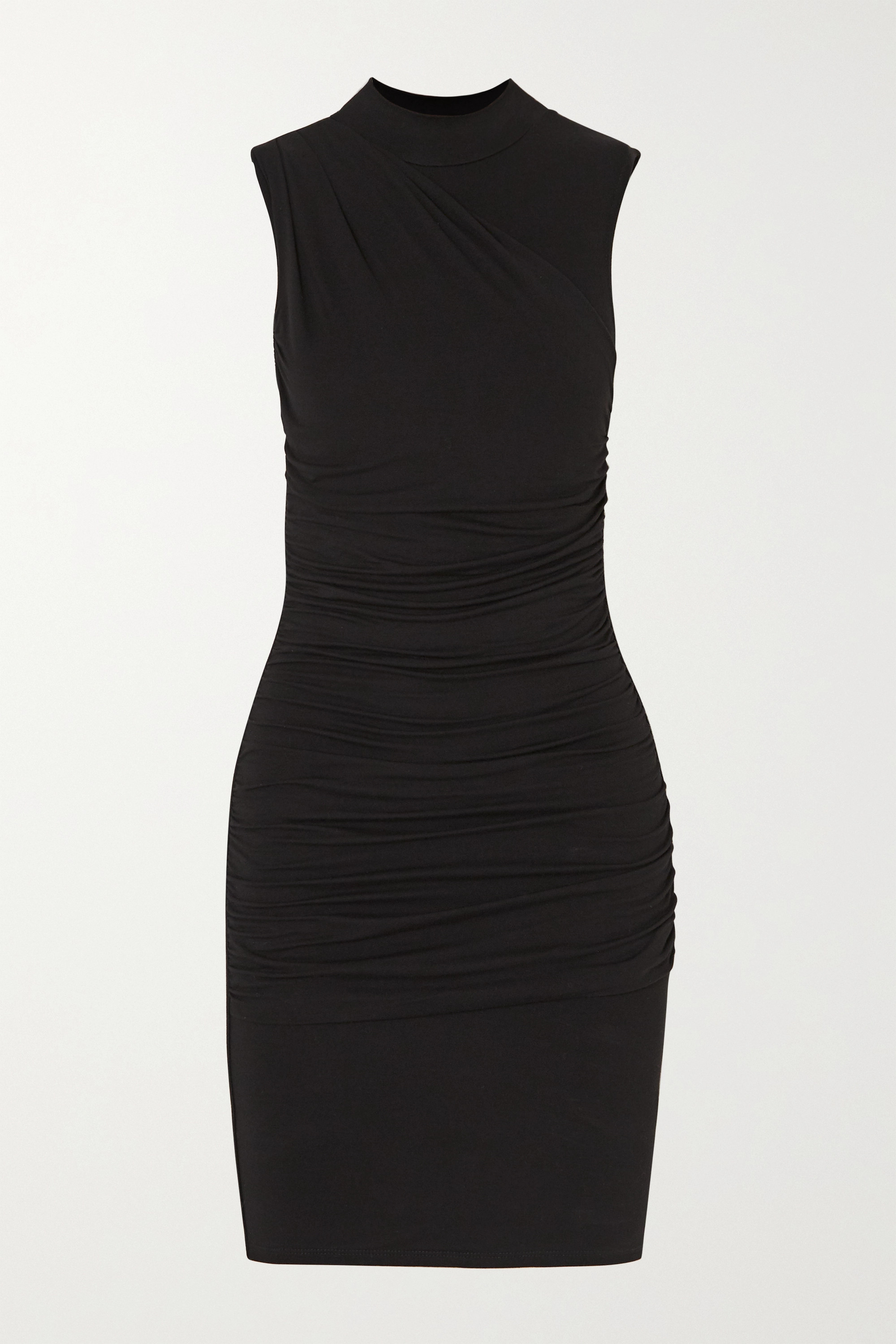 The Line By K Ayme ruched stretch-jersey mini dress