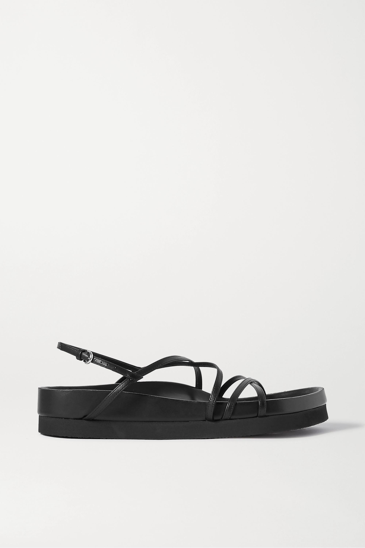 Co Leather platform sandals