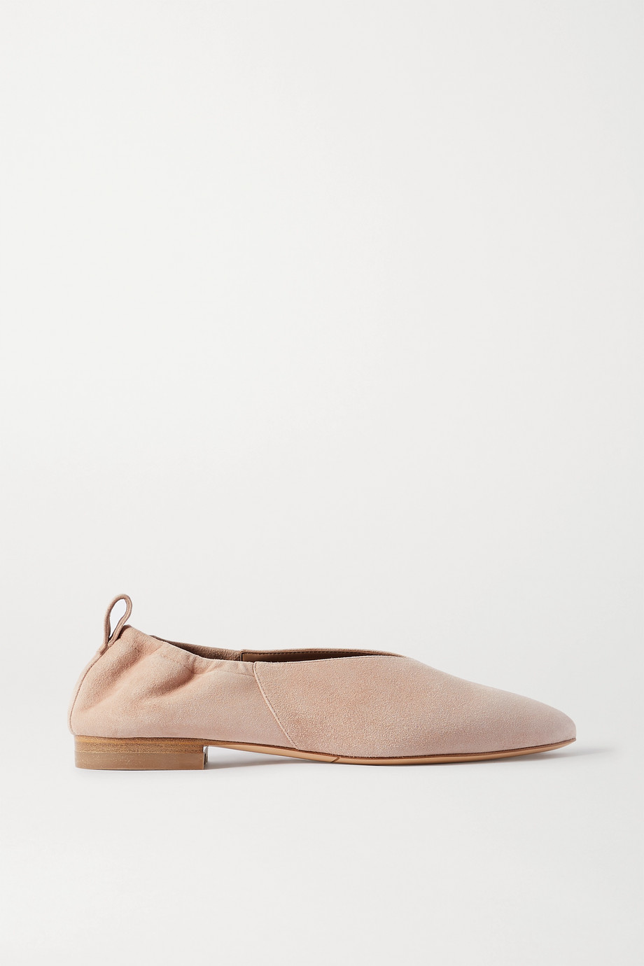 Co Suede ballet flats