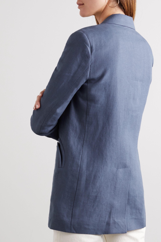 Blazé Milano Midday-Sun Everyday double-breasted linen blazer