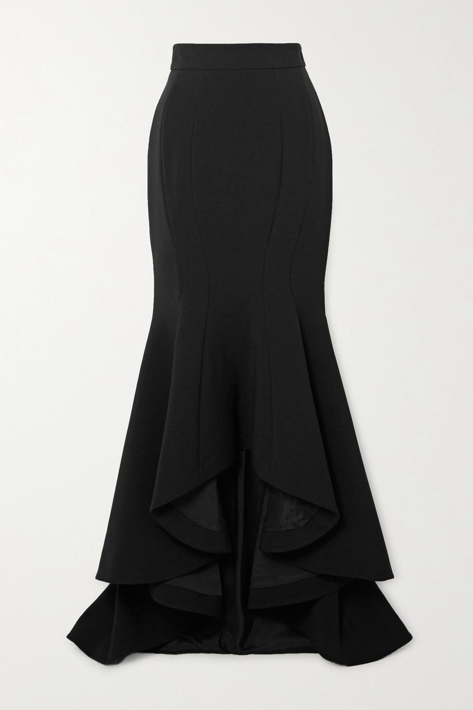 Alexandre Vauthier Asymmetric crepe skirt