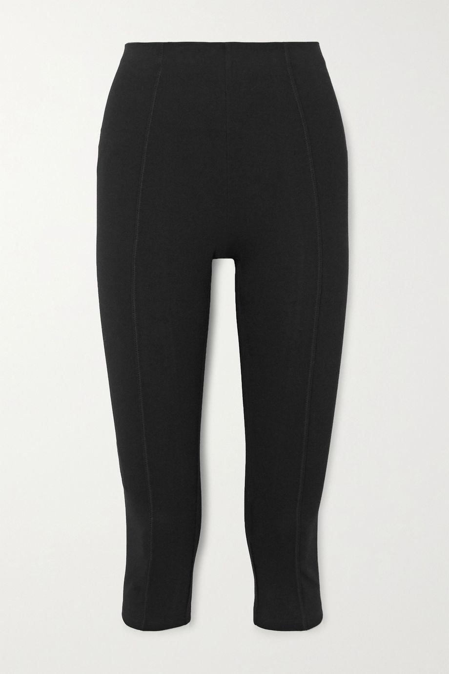 Ninety Percent Cropped stretch-organic cotton-jersey pants